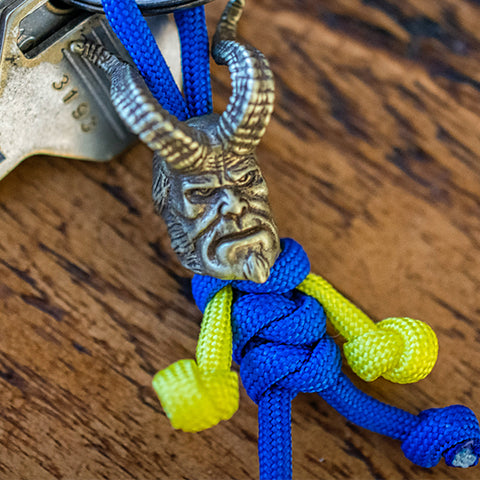 Metalseries© Beauty & The Beast Paracord Buddy Keychain