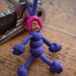 Brite Bomber Fortnite Paracord Buddy Keychain - Paracord Buddy UK