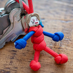 Harley Quinn Paracord Buddy Keychain - Paracord Buddy UK