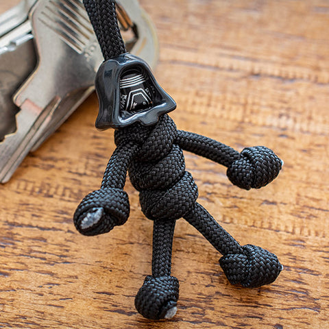 Kylo Ren Hooded Paracord Buddy Keychain - Paracord Buddy UK