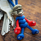 Metalseries© Mario Paracord Buddy Keychain
