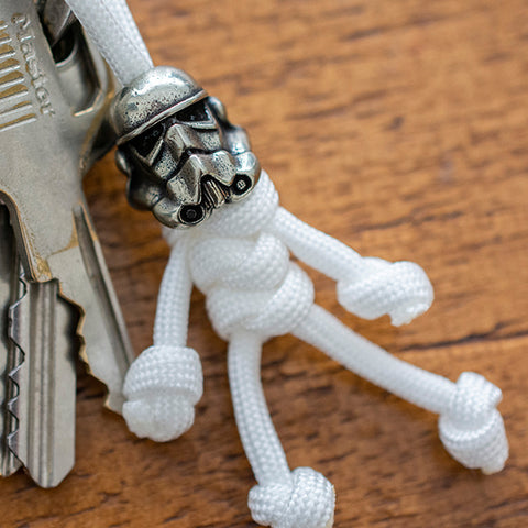Metalseries© Stormtrooper Paracord Buddy Keychain
