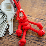 Money Heist Paracord Buddy Keychain - LIMITED EDITION! - Paracord Buddy UK