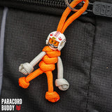 X-Wing Pilot Paracord Buddy Keychain