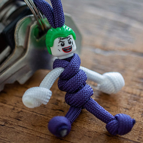 The Joker Paracord Buddy Keychain - Paracord Buddy UK
