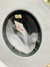 Gray Wool Felt Fedora Hat