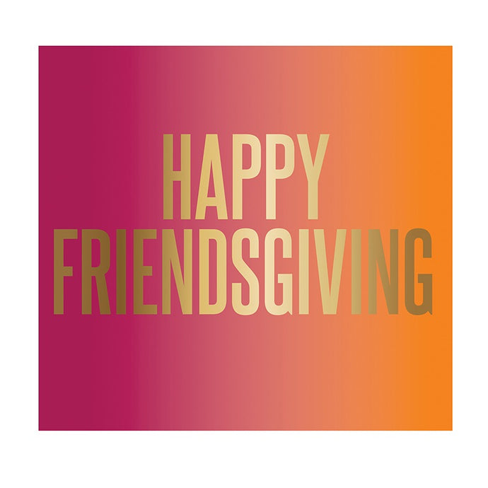 Happy Friendsgiving Beverage Napkins - Milo & Lily Boutique