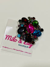 Extra Large Rhinestone Hair Brooch