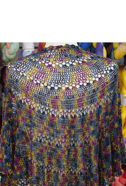 Fanfare Crocheted Shawl Pattern