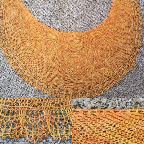 Beaded Dreams Shawl Pattern Fiberlady