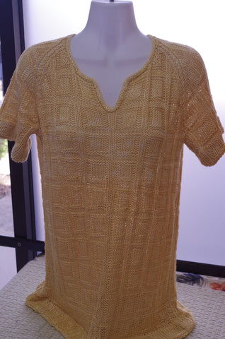 Blocked Tee in Metake