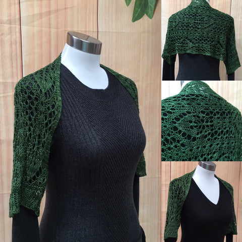Forest Lace Shrug Pattern