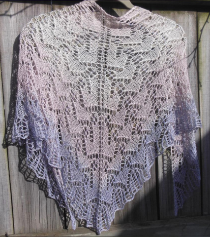 Highland Hills Shawl Pattern