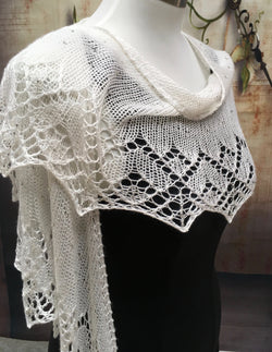 How Do I Love Thee Shawl Kit