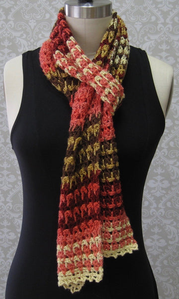 Mini Madness Scarf Pattern