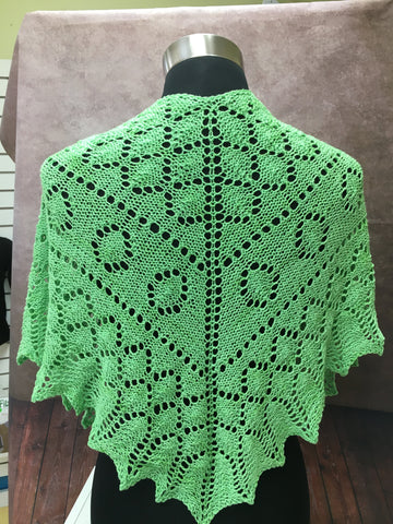 Lovely Leaf Shawl Pattern