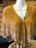 Caramel Crescent Shawl Pattern
