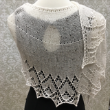 How Do I love Thee Shawl Pattern
