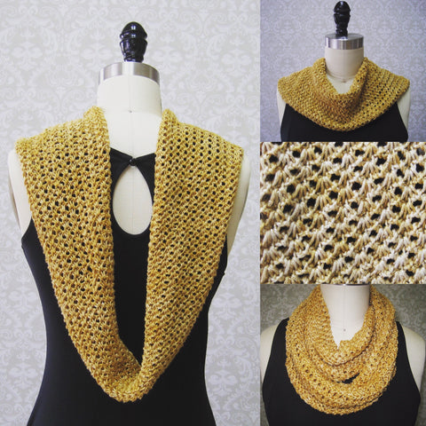 Shells Around Cowl Pattern