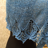 Lyra's Song Shawl Pattern for Fingering Weight