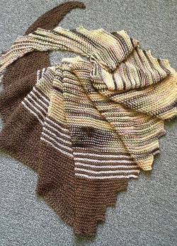 Striped Hitchhiker Yarn Kit