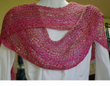 Waves in the Sand Shawl Pattern