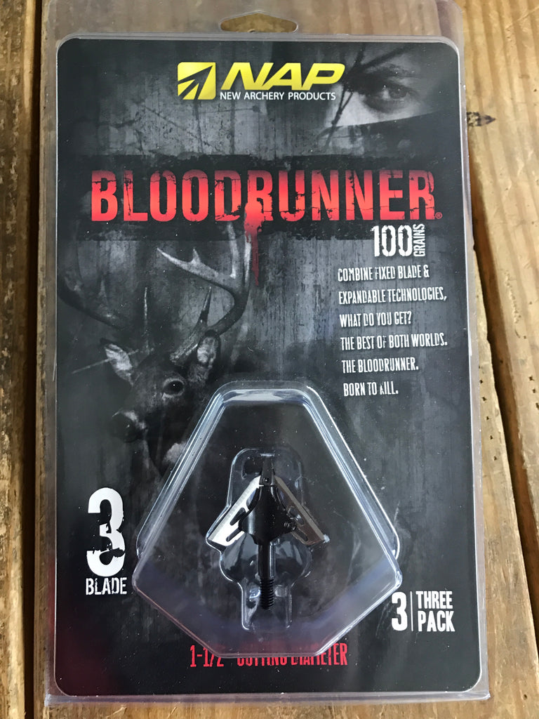 NAP Bloodrunner 100 gr - Mud Creek Outdoors