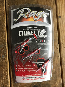 Rage Chisel Tip Extreme 100 gr - Mud Creek Outdoors