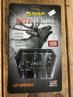 NAP HellRazor 100 gr - Mud Creek Outdoors