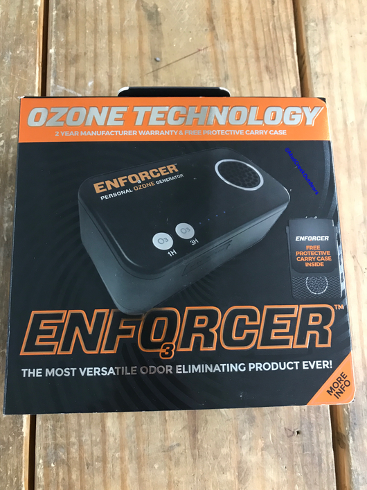 Enforcer Portable OZone Generator - Mud Creek Outdoors