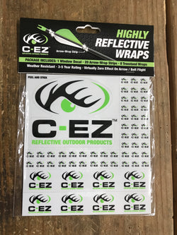 C-EZ Green Reflective Arrow and Treestand wrap - Mud Creek Outdoors
