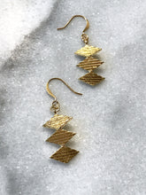 Twisted Geometric Earrings