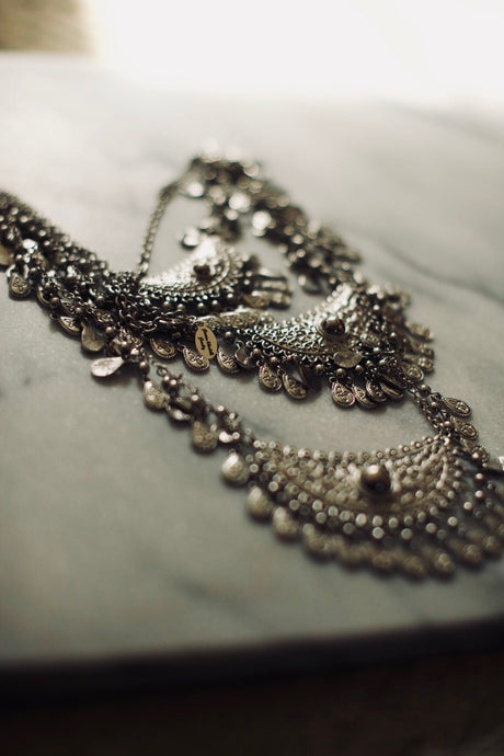 The Bold and Silver Necklace