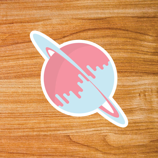 Lift Off Apparel Brand Sticker