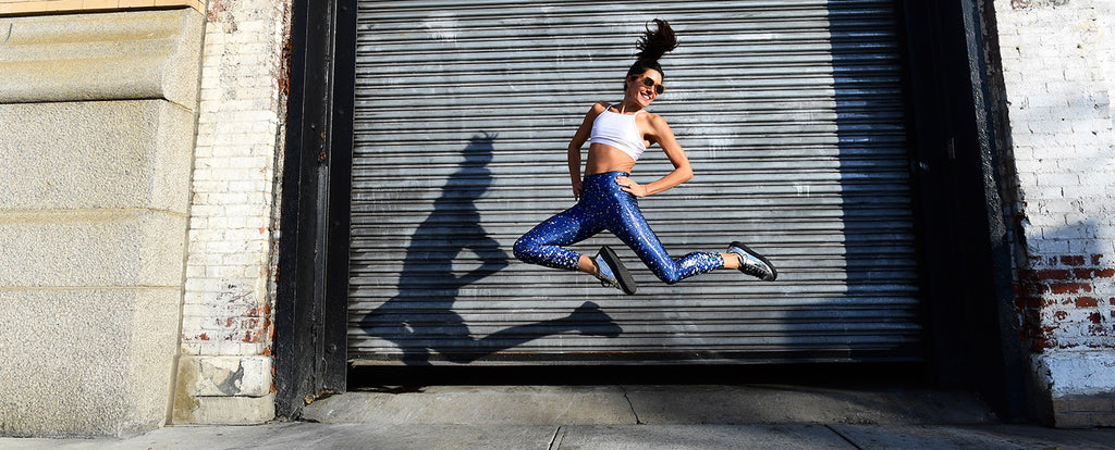 nyc pretty starshine legging leap