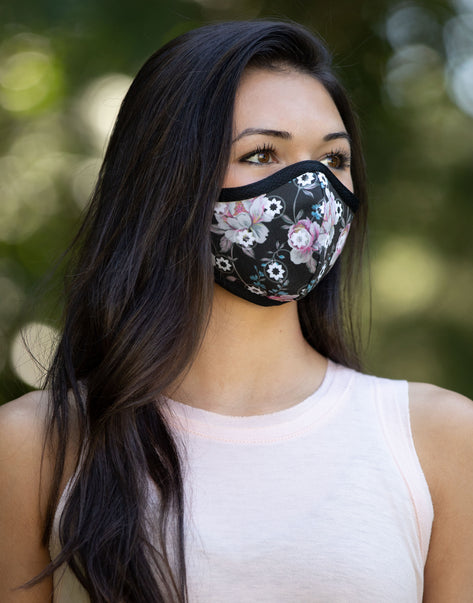 Club Pilates Floral Mask