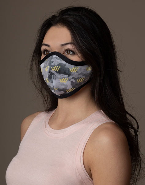 Row House Camouflage Mask