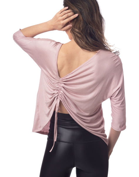 Harmony 2-in-1 Cinch Top Soft Mauve