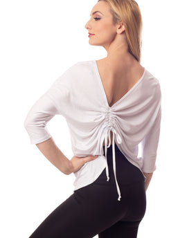 Harmony 2-in-1 Cinch Top White