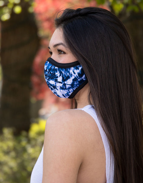 Tie Dye Together Mask