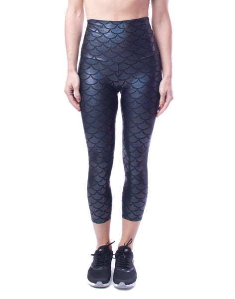 Onyx Shimmers Capri - XS only