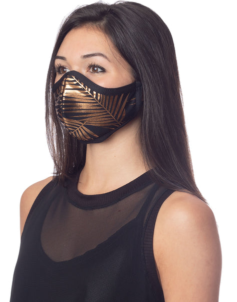 Palms Foil Mask Gold
