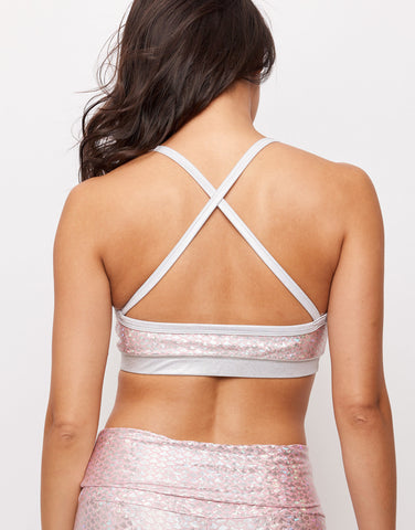 Pink Mermaid Bralette