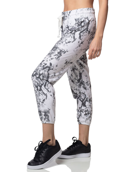 Python Cropped Jogger
