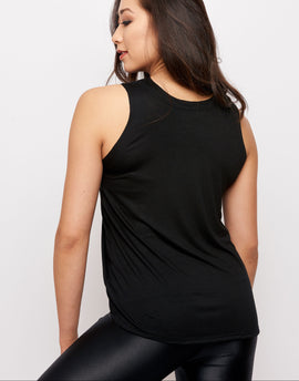 Sunday Tank Black
