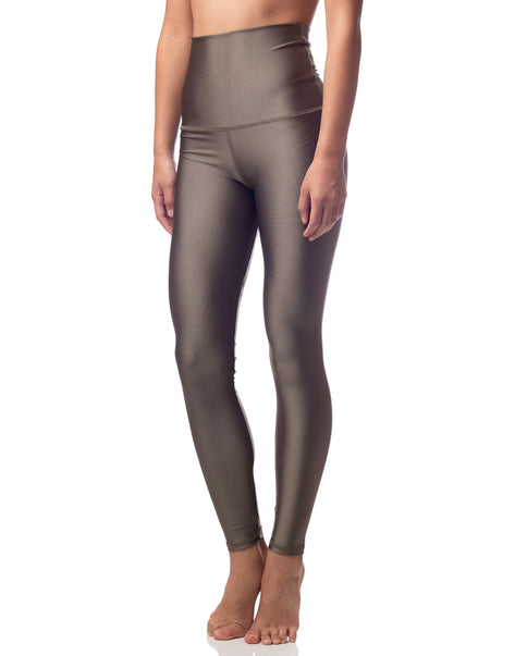 ultraluxe fern olive lustrous high waist legging