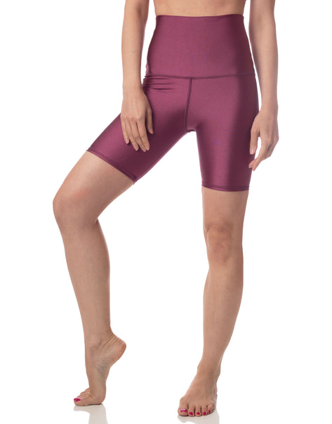 Ultraluxe Biker Short Plum