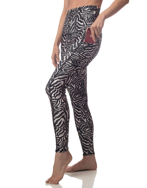 Zebra Pocket Legging