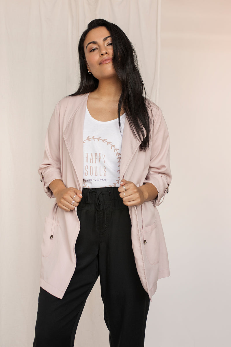 Veste Tencel ALEXIA Misty Rose SP21