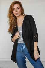 Veste Tencel ALEXIA Black SP21